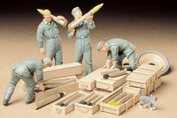 German tank ammo loading crew 1/35