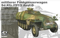 Funkpanzerwagen, SdKfz 251/3 AUSF D