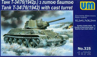 T-34/76 Model 1942 with Cast Turret 1/72