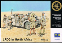 LRDG Crew in North Africa 1/35