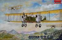 Gotha G.II, G.III 1/72