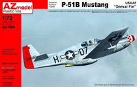 "North-American P-51B Mustang ""Dorsal Fin USAAF"" 1/72"