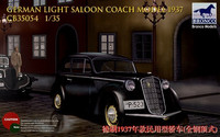 1937 German Light Saloon (Opel Olympia) 1/35