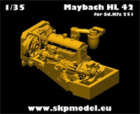 Engine for SdKfz 251 (AFV Club Kit)