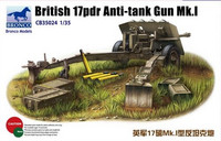 British 17pdr Anti-tank gun Mk.I 1/35