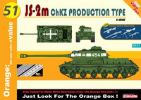 JS-2M ChZK Production Type + Soviet Weapons Set 1/35