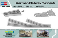 German RAILWAY TURNOUT 1/72