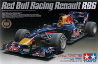 Red Bull Racing Renault RB6 (Mukana RB Pearl Blue maali) 1/20