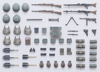 German infantry equipment set early WWII 1/35