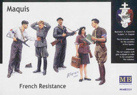 Maquis. French Resistance 1/35