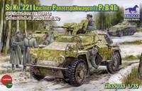 SdKfz 221 Leichter Panzerspähwagen (s.Pz.B.41) 1/35
