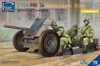 German 3.7cm PaK 36 1/35
