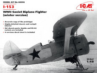 Polikarpov I-153 Tsaika, Sovie Bi-Plane Fighter 1/48