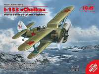 I-153 Tsaika Soviet Bi-Plane Fighter 1/48