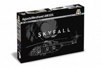 Agusta Westland AW-101 (from James Bond Skyfall Movie) 1/72