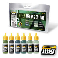 Green Mechas Colors