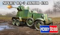 Soviet BA-3 Armoured Car 1/35