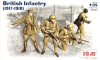 British INFANTRY (1917-1918) 1/35