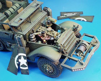 U.S Troop Carrier Engine Set 1/35