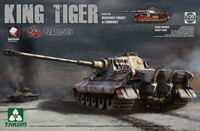 King Tiger Henschel (sPz.Abt 505) Zimmerit and Interior 1/35