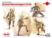 German Sturmtruppen (4 Figures) WWI 1/35