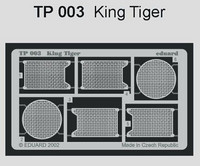 Tiger II Grills (Tamiya Kit)