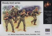 U.S. Marine Corps Infantry, Tarawa, November 1943 1/35