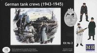 German Tank Crews (1943-45) Kit No 2 1/35