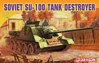 Soviet SU-100 Tank destroyer 1/72