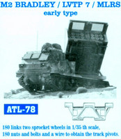 M2 Bradley, LVTP 7, MLRS Early type Tracks 1/35