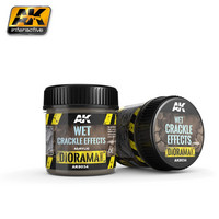 Wet Crackle Effects 100ml (Acrylic)