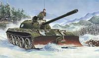 T-55 WITH BTU-55 1/35