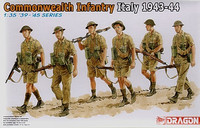 Commonwealth Infantry, Italy 1943-44 1/35
