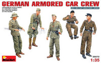 German Armored Car Crew 1/35