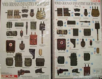 German Infantry Equipment 1 1/35