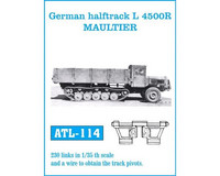 German Halftrack L 4500R Maultier 1/35