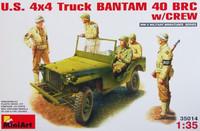 U.S. 4 X 4 Bantam Truck 40BRC w/Crew 1/35