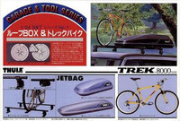 Roof Box and Trek Bike Accessory 1/24