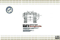 British WW I Heavy Tank Mark IV Hermaphrodite 1/35