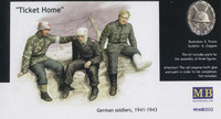 Ticket home German soldiers, 1941-1943 1/35