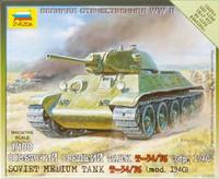 T-34/76 Soviet Medium Tank 1/100