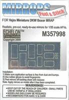 DKW Boxer MRAP Mirrors (Vajra Miniature) 1/35
