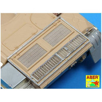 Grilles for Russian T-55, Tiran Tanks 1/35