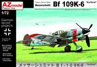 """Messerschmitt Bf 109K-6 """"Kurfüst"""" 1/72"""