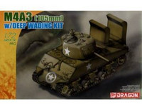 M4A3 Sherman (105mm) with Deep Wading Kit 1/72
