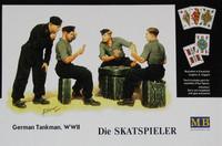 German Tankman WWII, Die Skatspieler 1/35
