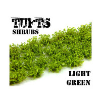 Shrubs Tufts 6mm Light Green (Self Adhesive)