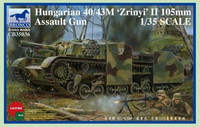 Hungarian 40/43M Zrinyi II 105mm Assault Gun 1/35