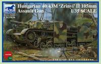 Hungarian 40/43M Zrinyi II 105mm Assault Gun 1/35