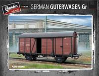 German Gedeckter Guterwagen Gr.15